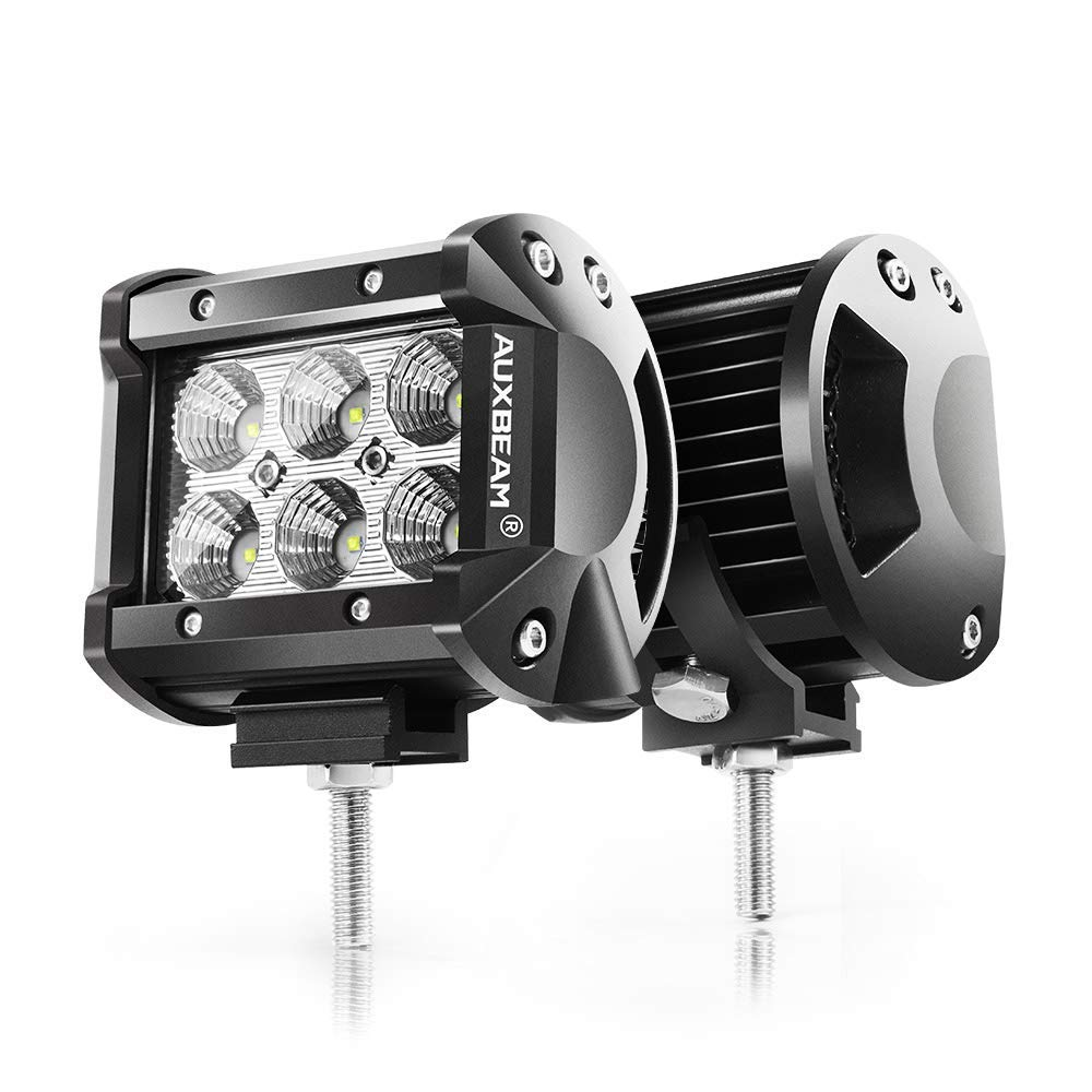 Auxbeam 4-inch LED Light Bar 18W Driving Light