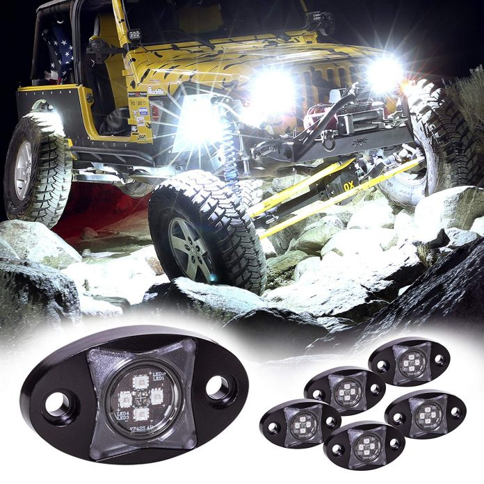 One of the best off road lights - LAMPHUS 6pc Stardust SDRL14 4x4 Offroad LED Rock Light Kit for 4WD Jeep & Truck
